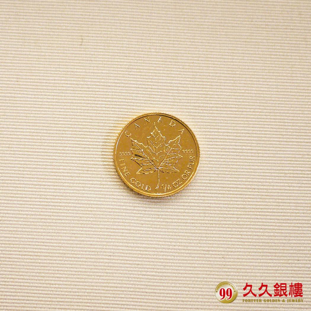 楓葉金幣-反